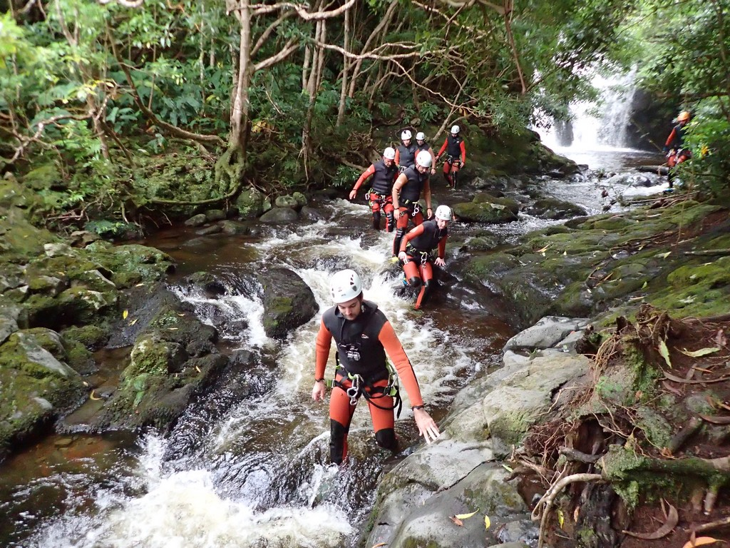 Canyoning aux Açores