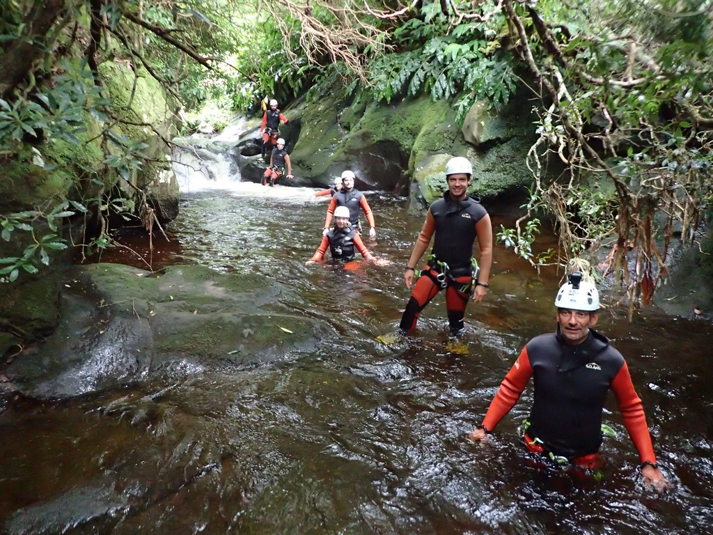 Sortie canyoning aux Açores