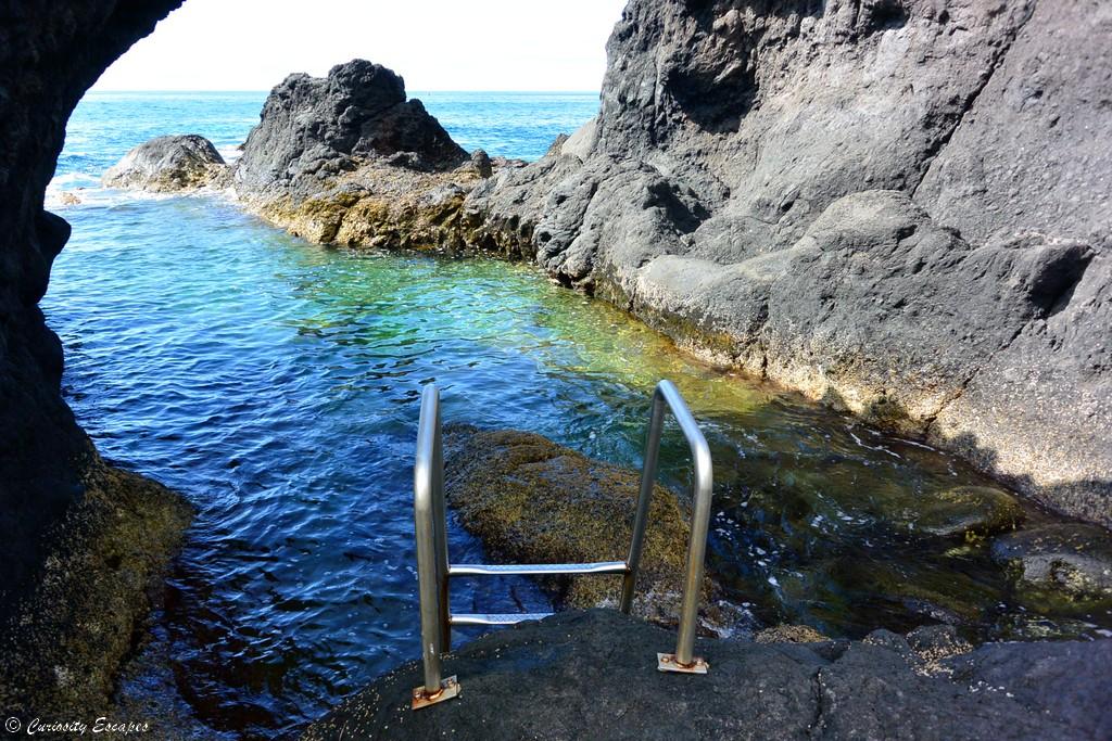 Piscine naturelle au sud de Pico, Açores