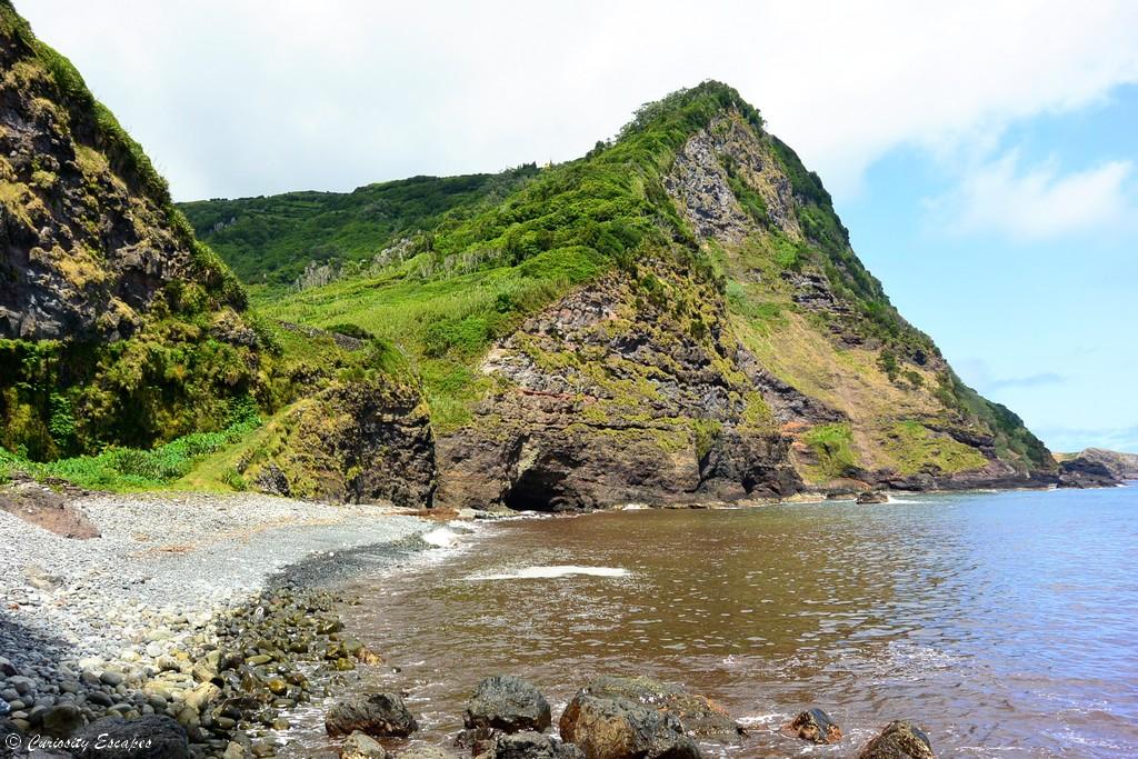 Plage d'Alagoa sur Flores, Açores