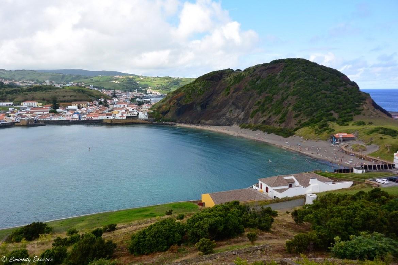 Porto Pim sur l'île de Faial, Açores