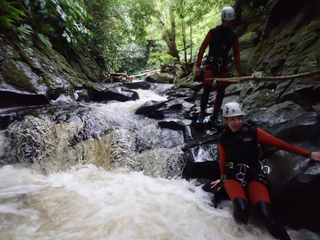 Canyoning sur Flores