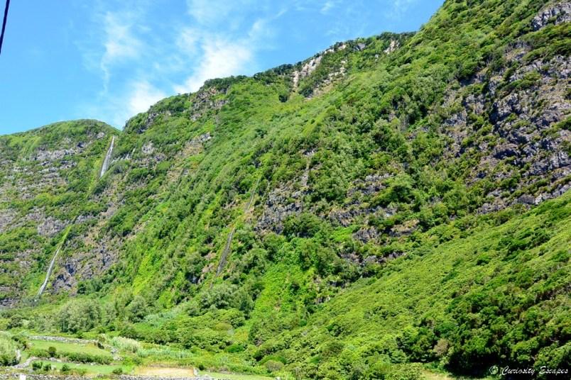 Cascades de Fajã Grande, Flores