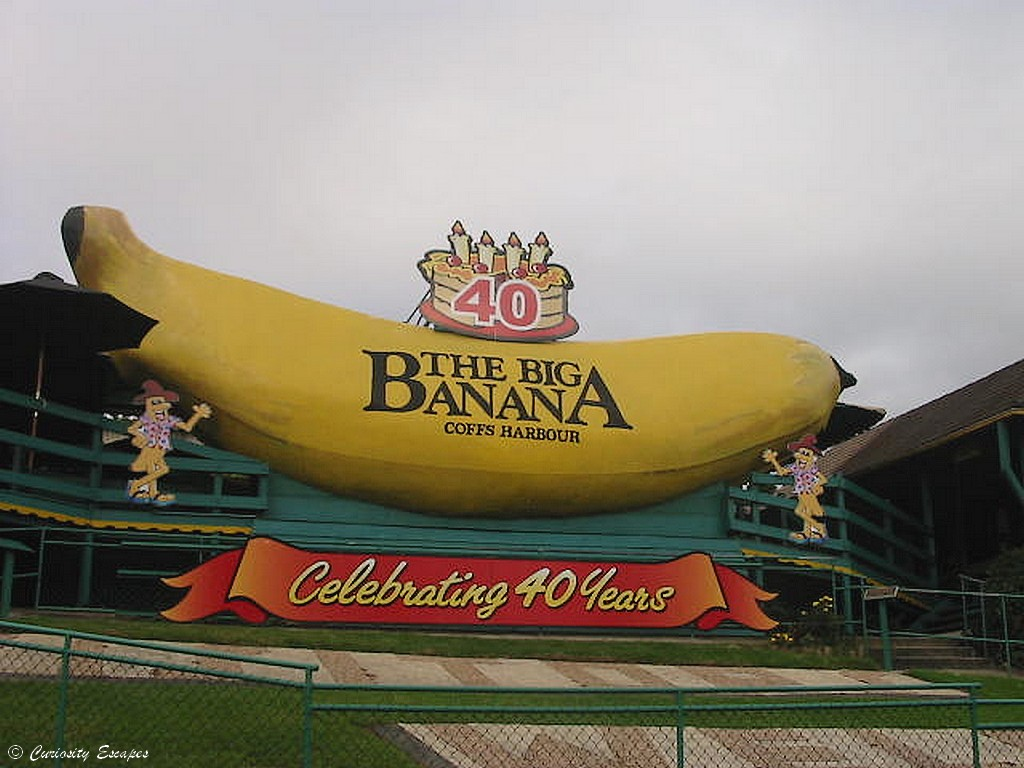Big Banana de Coffs Harbour, Australie