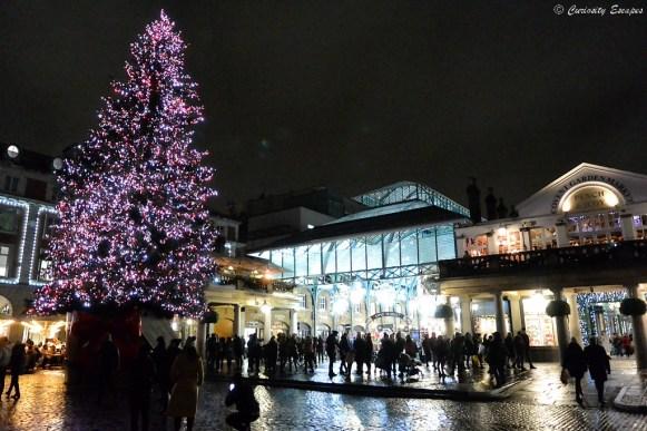 Covent Garden décoré pour noël