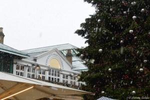 Covent Garden sous la neige