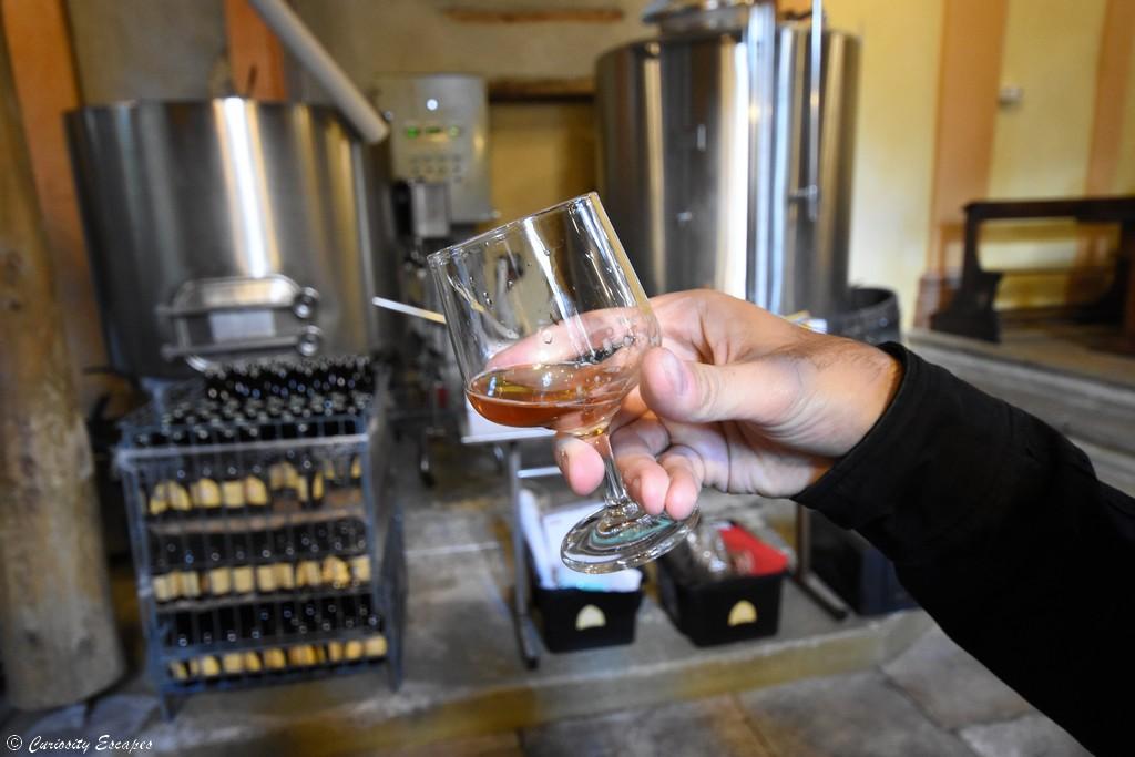 Dégustation de bière artisanale aux Ursulines de Crémieu