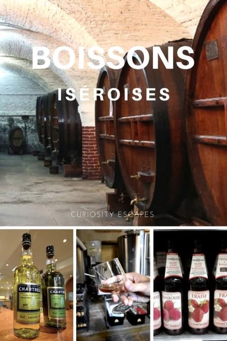 Boissons fabriquées en Isère