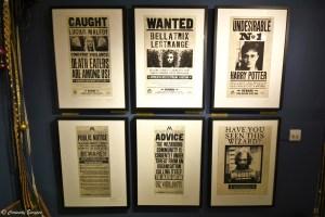 Unes de journaux du Daily Prophet, Harry Potter, fait par MinaLima