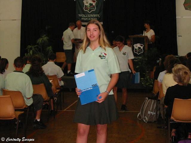 Remise des diplômes en Australie