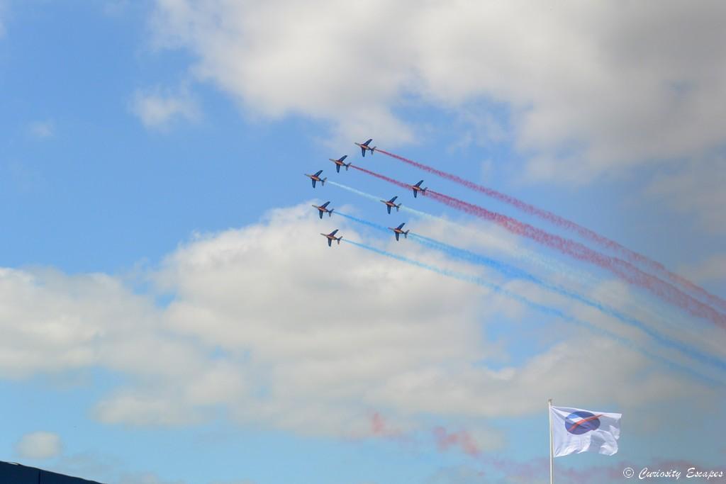 Salon de l'aéronautique à Paris