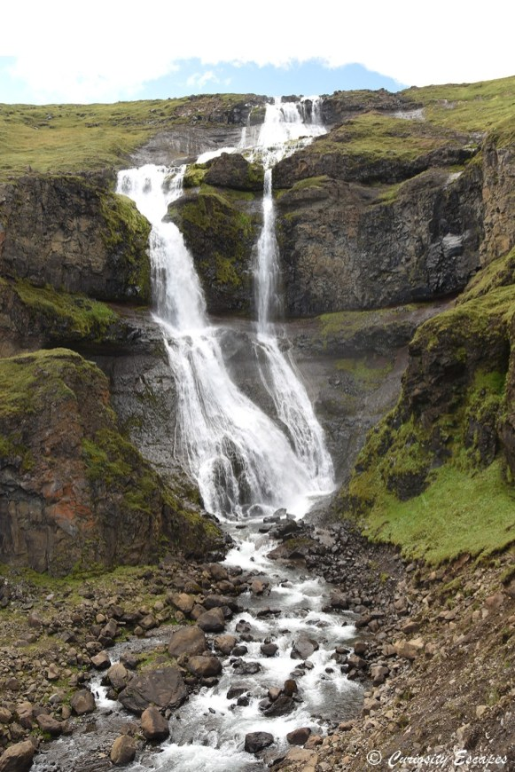 Chute de Rjukandi dans le nord de l'Islande