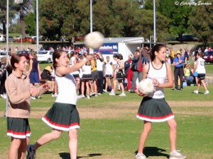 Match de Netball en Australie