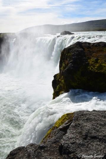 Chute Godafoss en Islande