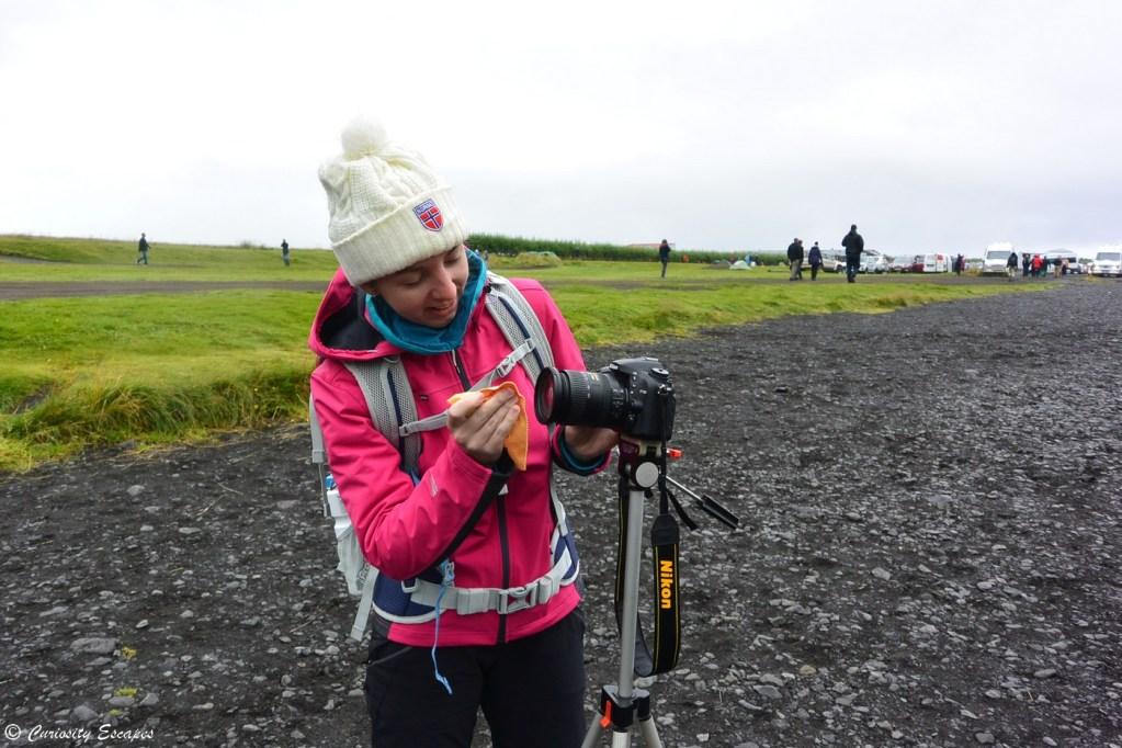Photographie de cascades en Islande