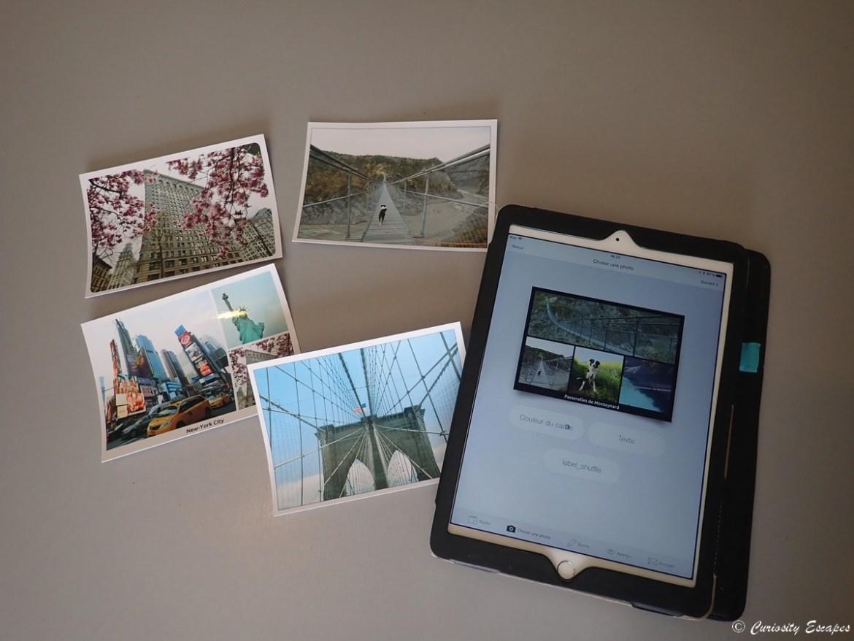 Envoyer des cartes postales personnalisées