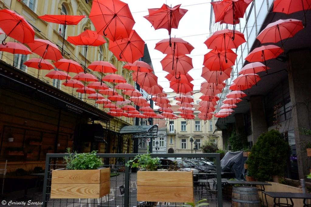 Rue piétonne de Belgrade