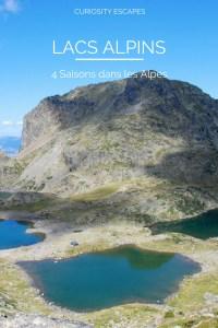 4 saisons dans les lacs des Alpes