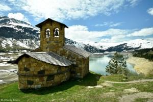 Lac de Roselend, Beaufortain, Savoie
