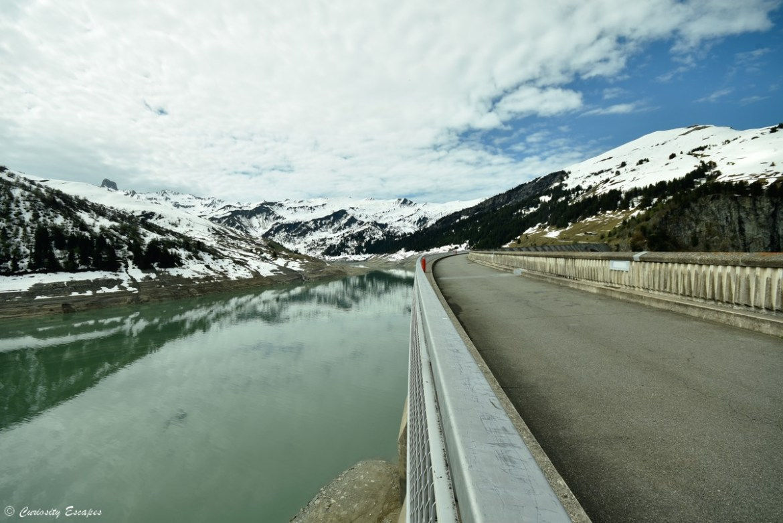 Le barrage de Roselend, Beaufortain