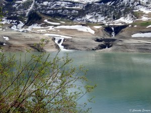 Torrents du lac de Roselend