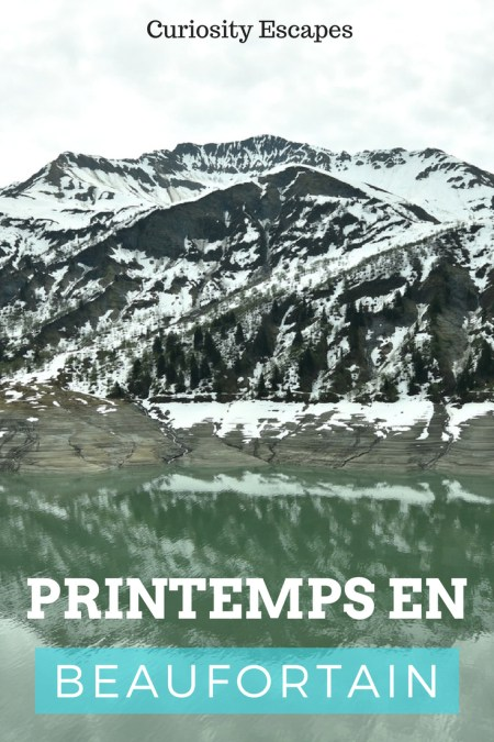 Weekend dans le Beaufortain au printemps
