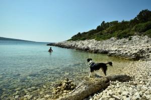 Crique sur l'île de Lošinj