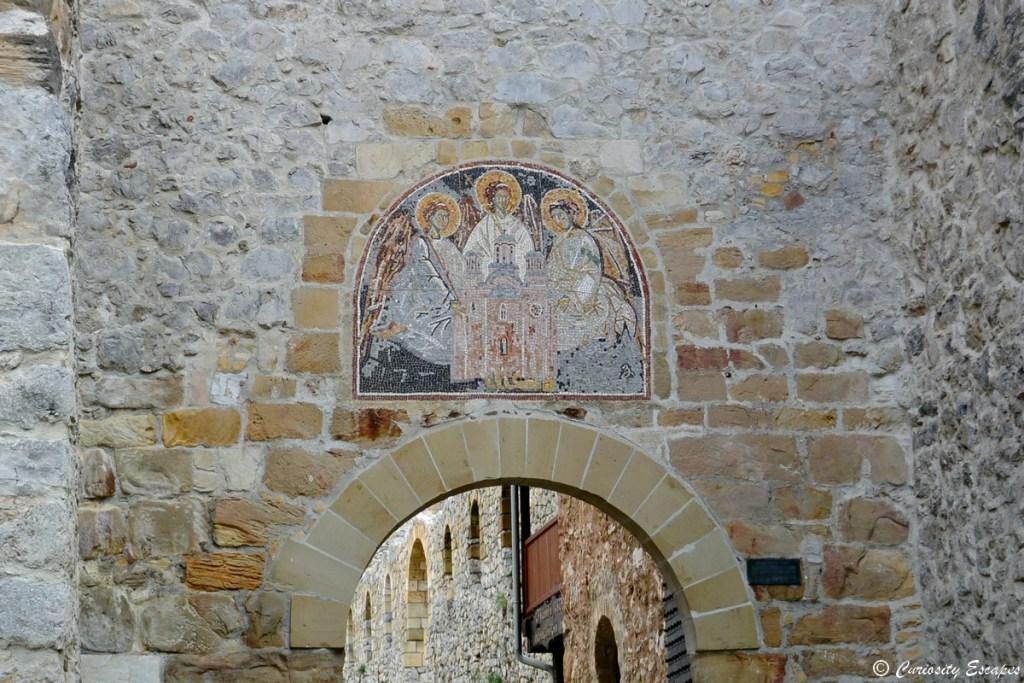 Fresques du monastère de Manasija