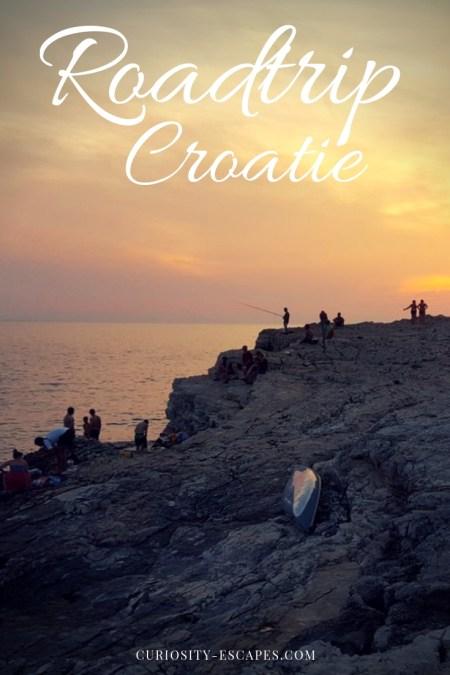 Itinéraire d'un roadtrip en Croatie