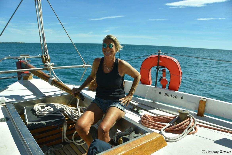 Balade en mer sur un voilier à Sète