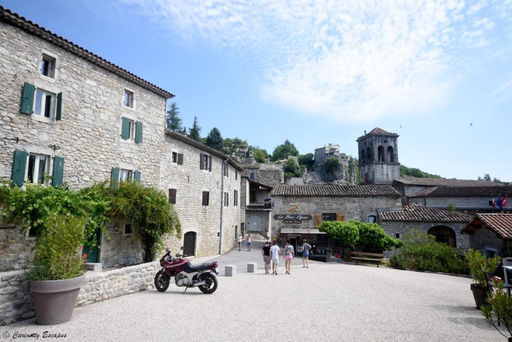 Village de Labeaume en Ardèche