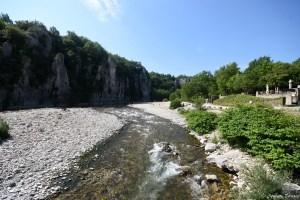 Rivière de la Beaume en Ardèche