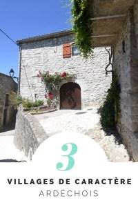 Plus beaux villages d'Ardèche