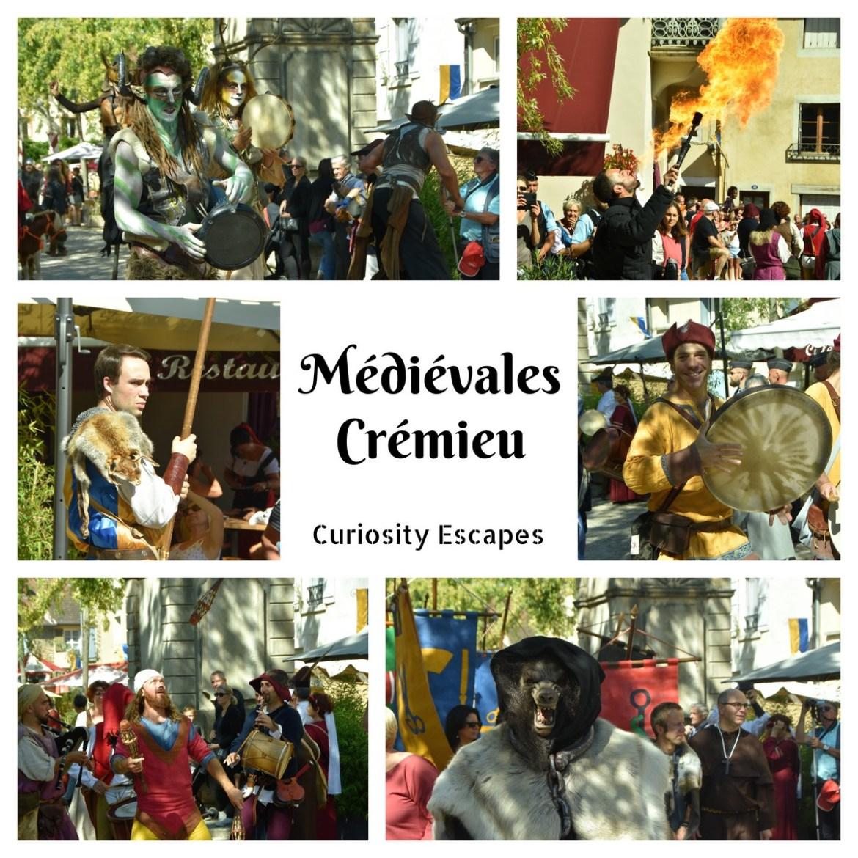 Parade des fêtes médiévales de Crémieu