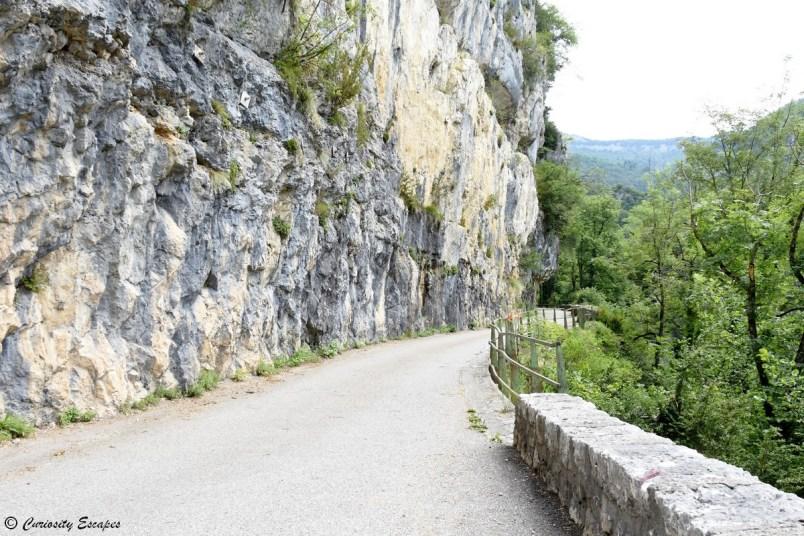 Route des Goulets dans le Vercors