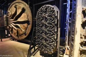 Chambre des secrets et porte de Gringotts
