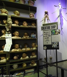 Creature shop aux studios Harry Potter