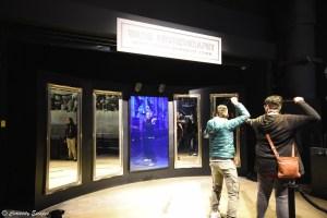 Chorégraphie de baguette en duel aux studios Harry Potter