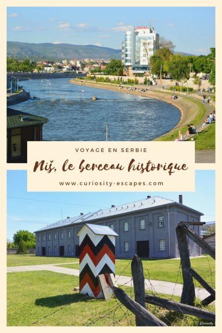 Visiter la ville de Niš au sud de la Serbie
