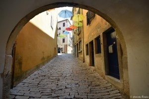 Village de Labin en Croatie