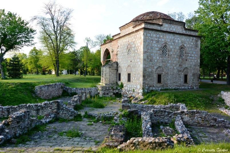 La mosquée dans la forteresse de Nis en Serbie