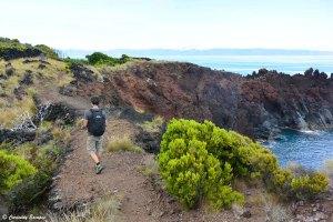Randonnée littorale sur l'île de Pico