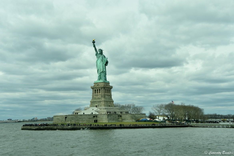 Statue de la Liberté depuis le ferry