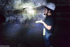 Visite guidée d'un tunnel de lave aux Açores
