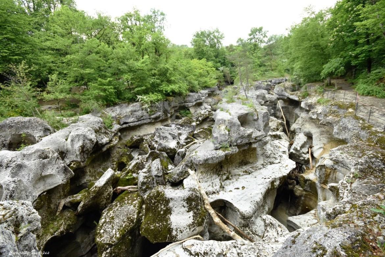 Mer de rochers des gorges du Fier, Haute-Savoie