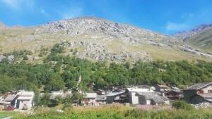 Village en pierre de Bonneval sur Arc