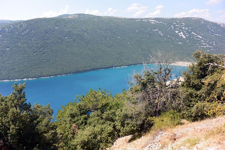 Lac Vrana sur l'île de Cres.