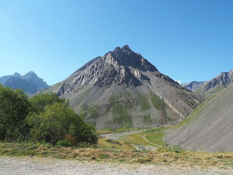 Montagne du col du Galibier, Savoie