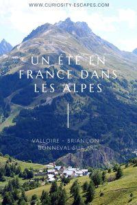 Vacances d'été en France entre Alpes du Nord et Alpes du Sud