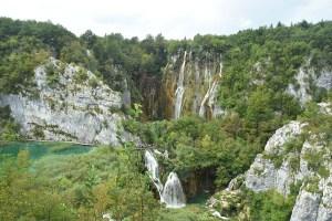 Grande cascade des lacs de Plitvice